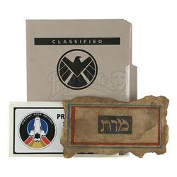 Lot #194 - Marvel's Agents of S.H.I.E.L.D. - Set of Project Distant Star Return Paperwork