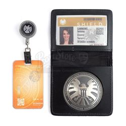Lot #204 - Marvel's Agents of S.H.I.E.L.D. - Jemma Simmons' S.H.I.E.L.D. ID, Badge, and Lanyard