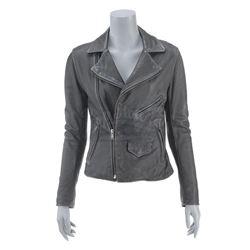 Lot #208 - Marvel's Agents of S.H.I.E.L.D. - Melinda May's Leather Jacket