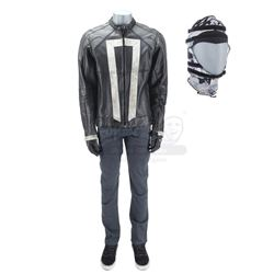Lot #223 - Marvel's Agents of S.H.I.E.L.D. - Robbie Reyes' Ghost Rider Costume with Stunt SFX Hood