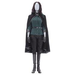 Lot #231 - Marvel's Agents of S.H.I.E.L.D. - AIDA's 'Madame Hydra' Stunt Full Cloak Costume with Wig