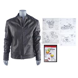 Lot #239 - Marvel's Agents of S.H.I.E.L.D. - Alphonso 'Mack' Mackenzie's Stunt Ghost Rider Jacket an