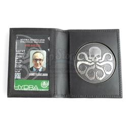 Lot #240 - Marvel's Agents of S.H.I.E.L.D. - Phil Coulson's 'Jamie Flugelman' Hydra Badge