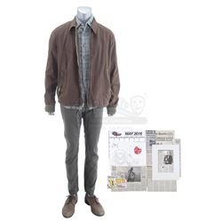Lot #247 - Marvel's Agents of S.H.I.E.L.D. - Phil Coulson's Framework Diversion Costume with Newspap