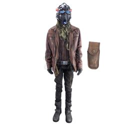 Lot #292 - Marvel's Agents of S.H.I.E.L.D. - Deke Shaw's Lighthouse Costume with Light-Up Helmet and