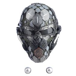 Lot #312 - Marvel's Agents of S.H.I.E.L.D. - Sinara's Earth Mission Mask with Metal Spheres