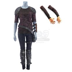 Lot #327 - Marvel's Agents of S.H.I.E.L.D. - Elena 'Yo-Yo' Rodriguez's Ruby Hale Fight Costume with