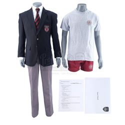 Lot #349 - Marvel's Agents of S.H.I.E.L.D. - Young Jasper Sitwell's Hydra Academy and Gym Costumes w