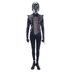 Lot #359 - Marvel's Agents of S.H.I.E.L.D. - Ruby Hale's Partial Super Costume with Mask and Chakram