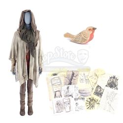 Lot #369 - Marvel's Agents of S.H.I.E.L.D. - Robin Hinton's Bloodied 'The Seer' Costume with Wooden