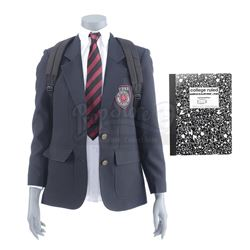 Lot #376 - Marvel's Agents of S.H.I.E.L.D. - Young Hale's Hydra Academy Uniform Components, Backpack