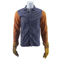Lot #400 - Marvel's Agents of S.H.I.E.L.D. - Leo Fitz's Welding Jacket and Gloves