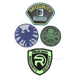 Lot #409 - Marvel's Agents of S.H.I.E.L.D. - Set of Four Patches