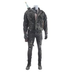 Lot #411 - Marvel's Agents of S.H.I.E.L.D. - Sarge's Costume with Plasma Gun and Sword