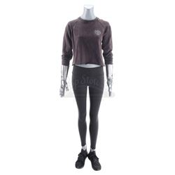 Lot #415 - Marvel's Agents of S.H.I.E.L.D. - Elena 'Yo-Yo' Rodriguez's Workout Costume with Stunt Ro