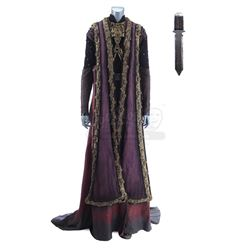 Lot #417 - Marvel's Agents of S.H.I.E.L.D. - Izel's Ceremonial Costume with Cloak, Necklace and Swor