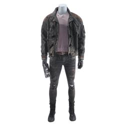Lot #419 - Marvel's Agents of S.H.I.E.L.D. - Sarge's Bullet-Riddled Stunt Costume with Plasma Gun