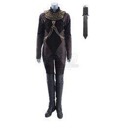 Lot #425 - Marvel's Agents of S.H.I.E.L.D. - Izel's Ceremonial Fight Costume with Necklace and Separ