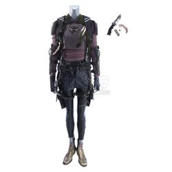 Lot #431 - Marvel's Agents of S.H.I.E.L.D. - Snowflake's Costume with Backpack, Leaf Knife and Dagge
