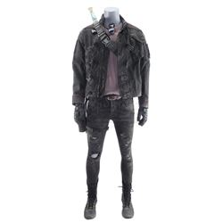 Lot #448 - Marvel's Agents of S.H.I.E.L.D. - Sarge's Stunt Costume with Plasma Gun and Sword