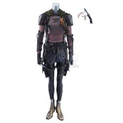 Lot #449 - Marvel's Agents of S.H.I.E.L.D. - Snowflake's Costume with Leaf Knife and Dagger