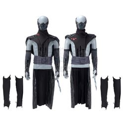 Lot #453 - Marvel's Agents of S.H.I.E.L.D. - Two Remorath Warrior Costume Components with Bone Claw