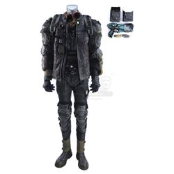 Lot #459 - Marvel's Agents of S.H.I.E.L.D. - Pax's Battle-Damaged Mercenary Costume