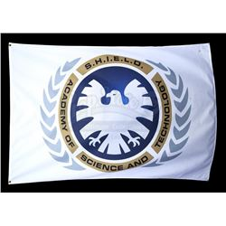 Lot #460 - Marvel's Agents of S.H.I.E.L.D. - White S.H.I.E.L.D. Academy Flag