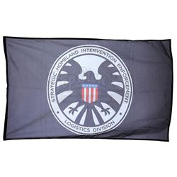 Lot #461 - Marvel's Agents of S.H.I.E.L.D. - Black S.H.I.E.L.D. Academy Flag