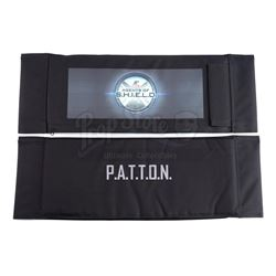 Lot #480 - Marvel's Agents of S.H.I.E.L.D. - Koenig Family 'P.A.T.T.O.N' Cast Member Chairback with