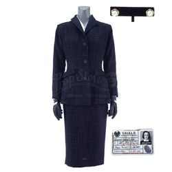 Lot #485 - Marvel's Agents of S.H.I.E.L.D. - Jemma Simmons' 1950s-Style 'Agent Carter' Costume with