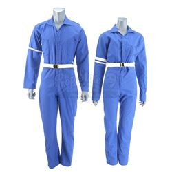 Lot #498 - Marvel's Agents of S.H.I.E.L.D. - One Male and One Female 1970s S.H.I.E.L.D. Jumpsuits