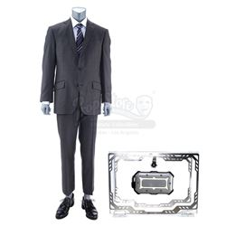 Lot #505 - Marvel's Agents of S.H.I.E.L.D. - Phil Coulson's 'Headroom' Costume and Light-Up Hard Dri