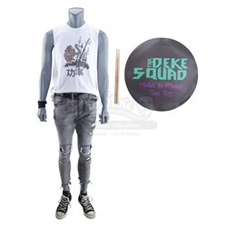 Lot #509 - Marvel's Agents of S.H.I.E.L.D. - Cricket's Deke Squad Costume with Drumsticks and Drum S