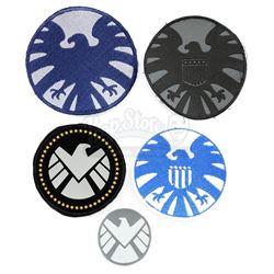 Lot #554 - Marvel's Agents of S.H.I.E.L.D. - Set of Five S.H.I.E.L.D. Patches