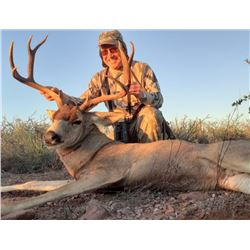 Mule Deer Hunt For One Hunter in Sonora Mexico 2020-2021