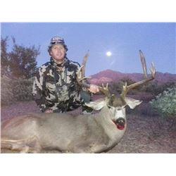 3 Mexico Deer Subspecies Combo Hunt For One Hunter 2022-2023