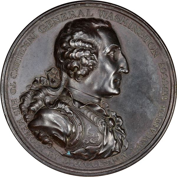 (1805) Eccleston Medal Baker-85 Bronze Proof