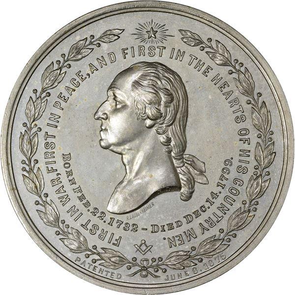 Washingtoniana. Trio of Scarce Medals.