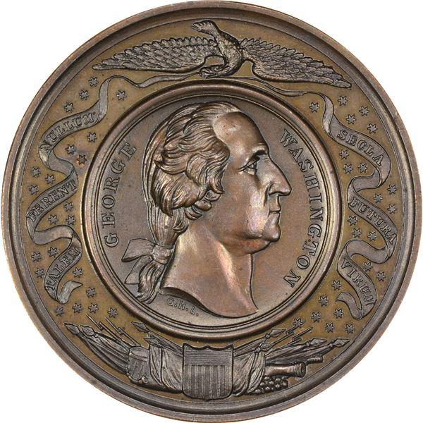 Washingtoniana. A Half Dozen Bronze Washington Medals. Includes: B-317.