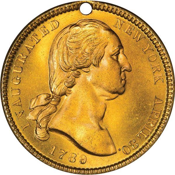 Washingtoniana. Five Washington Medals.