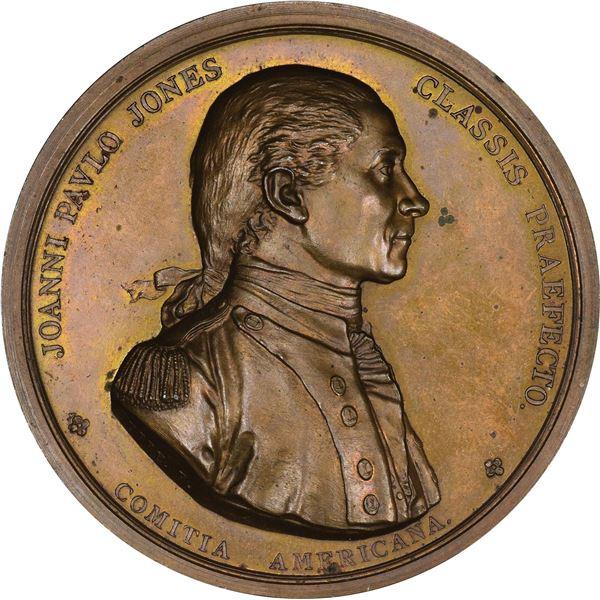 1739 (1740s) Admiral Vernon Took Porto Bello Medal.  Betts-189. VF