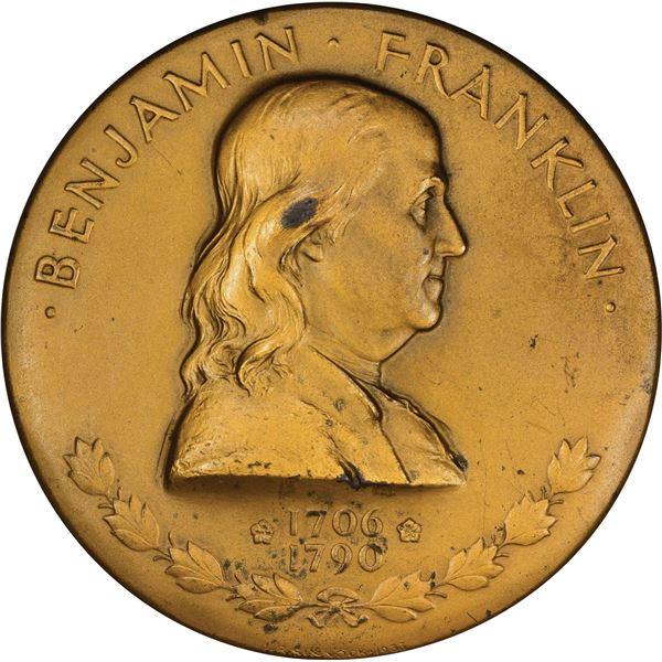United States. Benjamin Franklin Medal Duo.