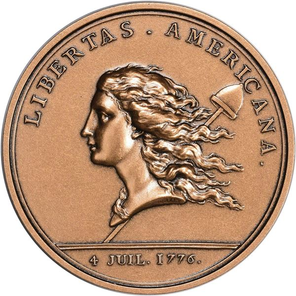 United States. Pair of Modern Libertas Americana Medals.