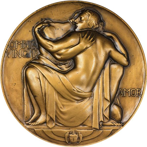 United States. 1937 Society of Medalists #15. All Mankind Love A Lover.