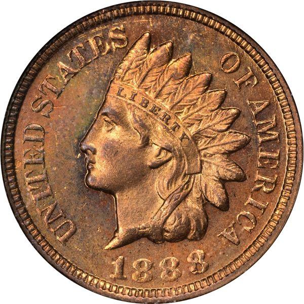 1888 1¢. MS-65 PL NGC.
