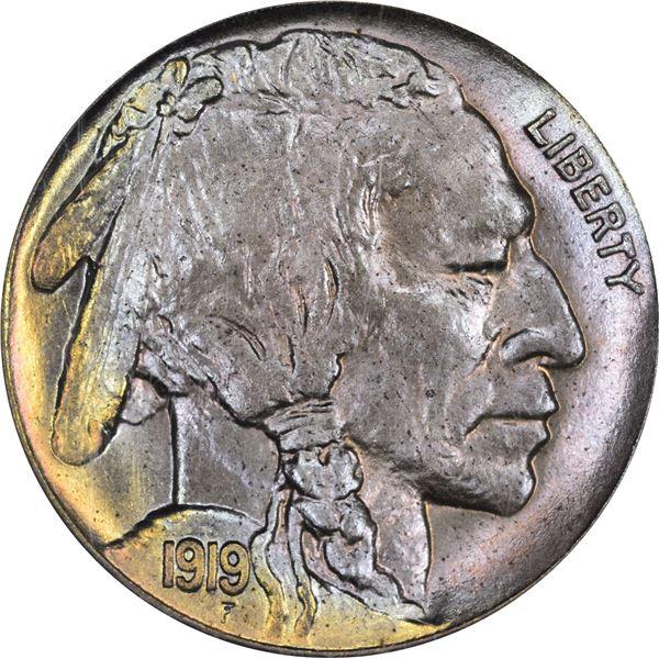 1919 5¢. MS-66 PCGS.
