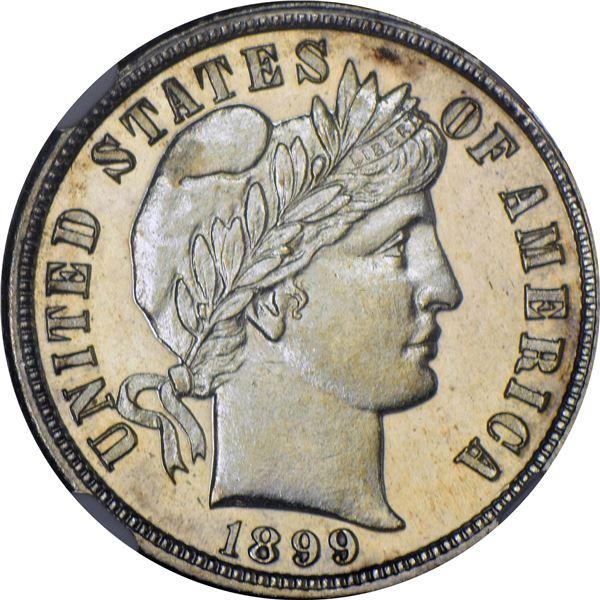 1899-S 10¢. MS-66 PL NGC