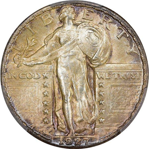 1927-D 25¢. MS-64 FH PCGS.