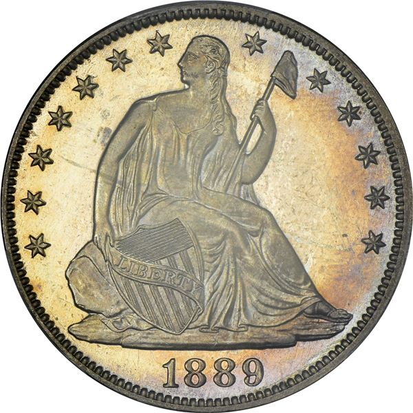 1889 50¢. Proof-65+ CAM PCGS.
